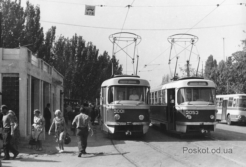Старые трамваи, Одесса