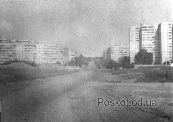 Строительство посёлка Котовского.