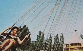Парк аттракционов в Лузановке, Одесса.