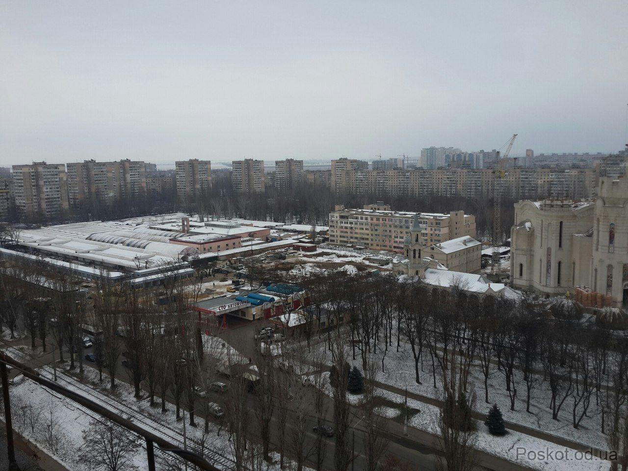"""Затонского, вид на рынок """"Северный"""""""
