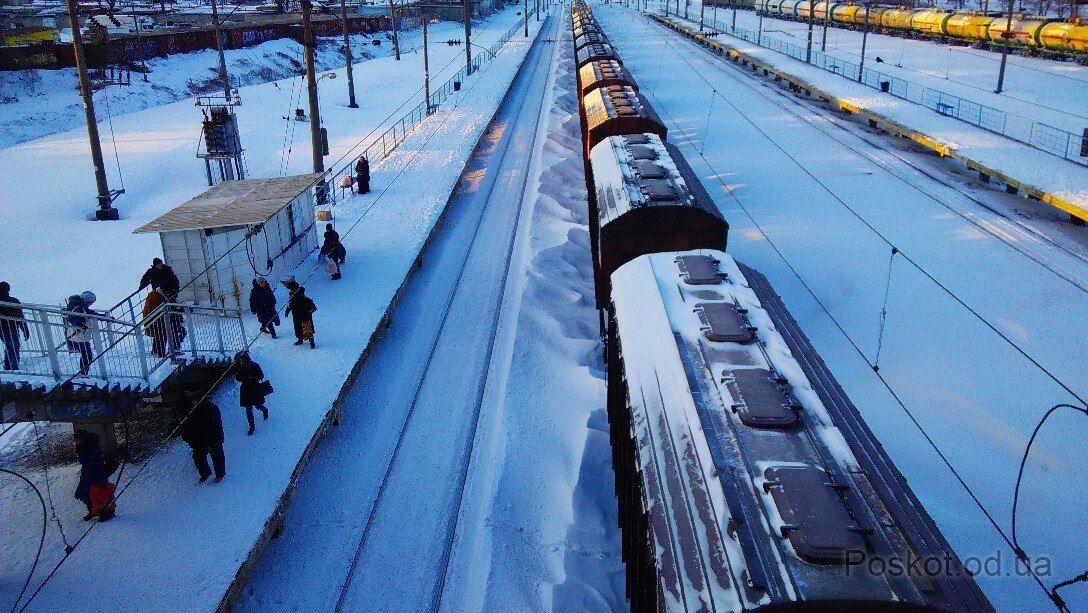 Станция Восточня, Одесса