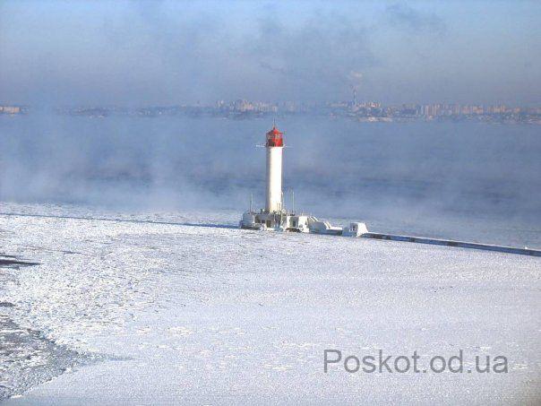 Зима, Одесса