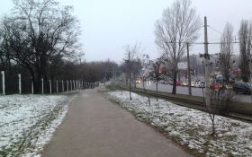 Молодая Гвардия зимой