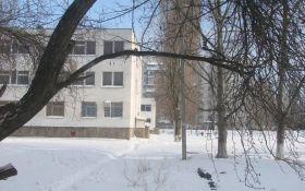 Школа зимой, Одесса