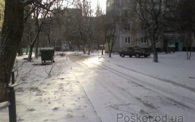 Поскот зимой