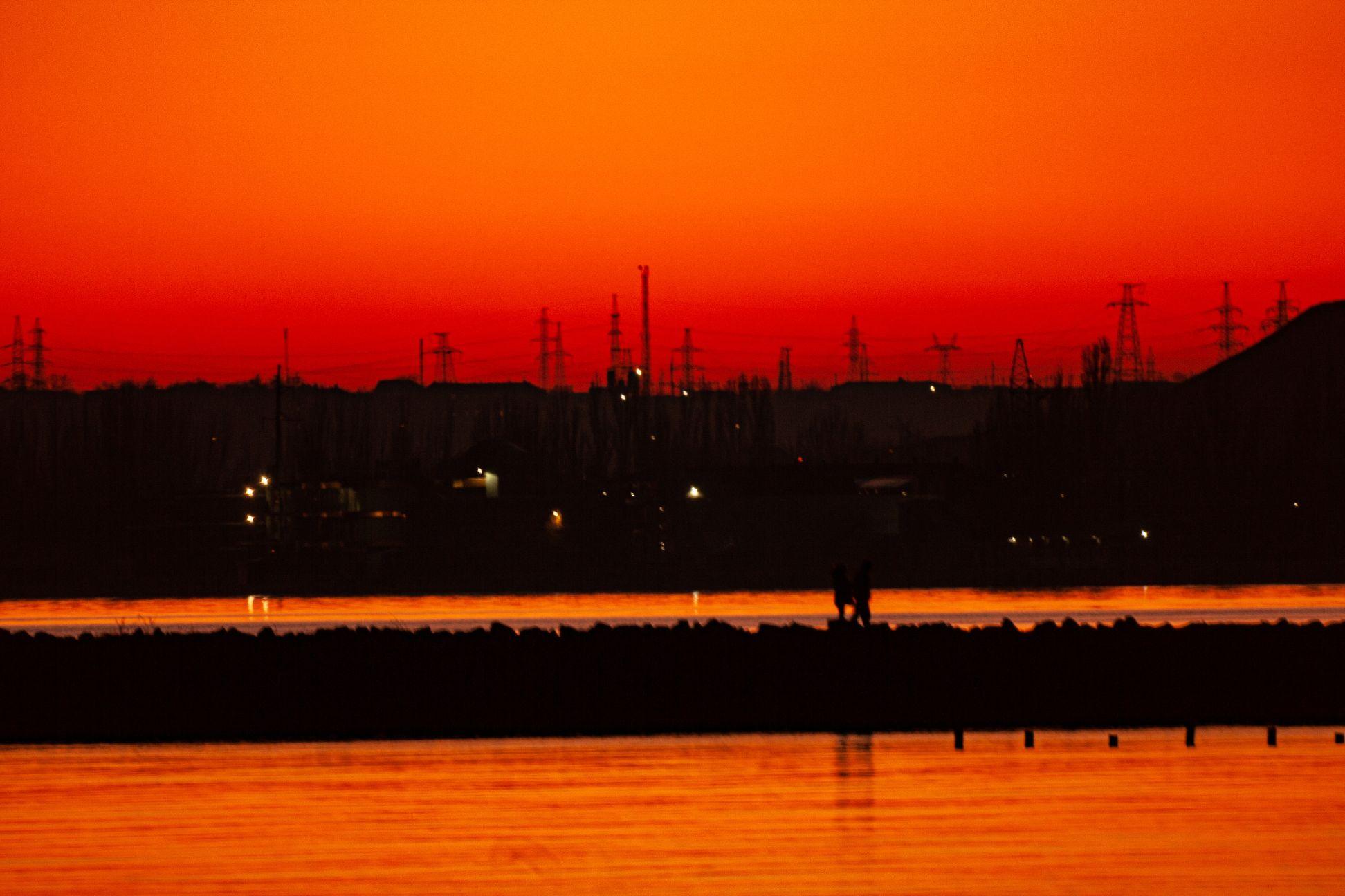 Красота неба над Одессой